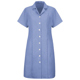 Red Kap DP23LB Women's Housekeeping Short Sleeve Dress