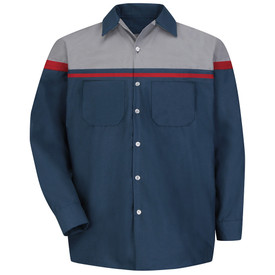 Red Kap SP14 Men's Automotive Tech Work Shirt