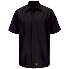 Red Kap SY10 3 Pocket RipStop Crew Shirt