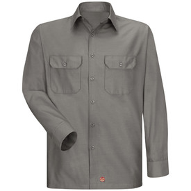 Red Kap SY50 Men's RipStop Solid Work Shirt