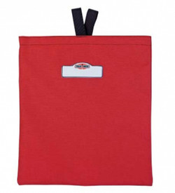 True North MB400R Fleece Lined Rectangle Mask Bag - Compact red pack for holding scuba masks on the go.