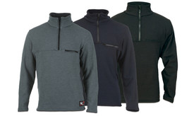 DragonWear Elements DFM2 FR & Wind Resistant 1/4 Zip Sweatshirt