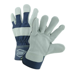 West Chester IronCat IC5 Leather Palm Safety Cuff Gloves