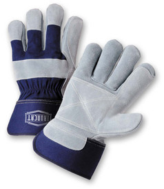 West Chester IronCat IC5DP Heavy Leather Double Palm Gloves