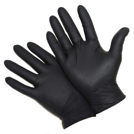West Chester 2920 Powder Free Black 5 Mil Nitrile Gloves