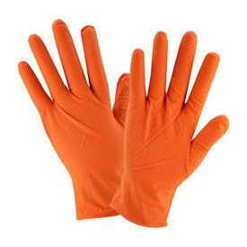 West Chester 2940 Powder Free Orange Nitrile 7 Mil Gloves
