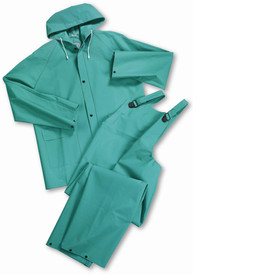 West Chester 4045 Green Chemical Resistant 2 Pc Acid Suit