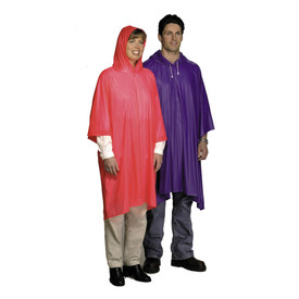 West Chester 49102 Attached Hood 10 mil  Rain Poncho