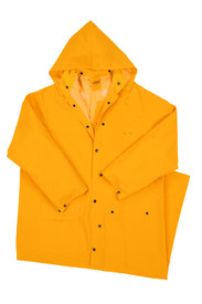 West Chester 4160 Long 60 Inch 35 mil Yellow Rain Jacket