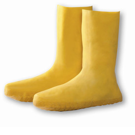 West Chester 8400 Lightweight Yellow Latex Rain Overshoes