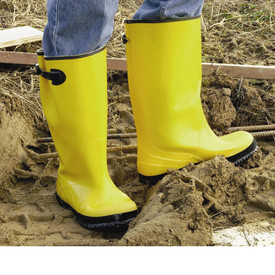 West Chester 8200 Yellow 17 In Over Shoe Rain Boot