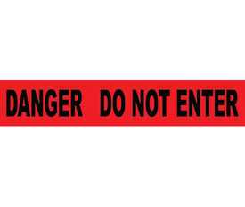 Do Not Enter Printed 3 Inch Barricade Tape
