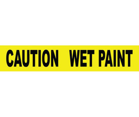 3 Inch Caution Wet Paint Printed Barricade Tape