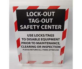Lockout Safety Center With Supplies
