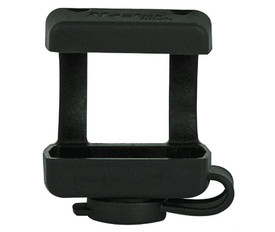 Keyhole Cover for Extreme Environment  - Aris Industrial Black medium sized thermoplastic keyhole cover.