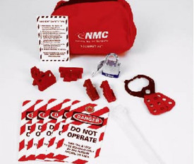 Deluxe Portable Lockout Pouch Kit