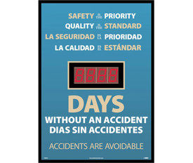 Bilingual Safety Is Priority Lost Days Accident Tracker