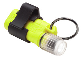 UK 2AAA Xenon Mini Pocket Light Clip On Flashlight Class 1