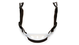 Pyramex Hard Hat Black-Elastic Strap with Chin Cup