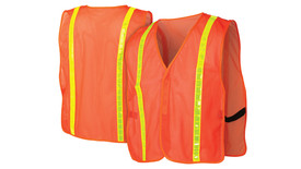Pyramex RV110 Non ANSI Mesh Vest with Reflective Tape