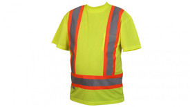 Pyramex RCTS2110 Class 2 Contrast  Reflective Tape T-Shirt