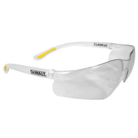 DeWalt Contractor Pro - Rubber Tipped Temples Safety Glasses