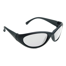 Radians Cobalt - Lightweight Safety Glasses - Black full frame stylish safety work glasses with clear lenses