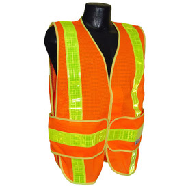 Radians Class 2 Mesh 2 Tone Safety Vest - Made in USA
