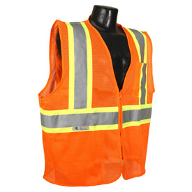 Radians Class 2 Economy 2 Tone Zipper Front Safety Vest