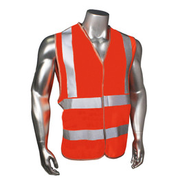Radians Class 2 Standard Hook & Loop Orange Safety Vest