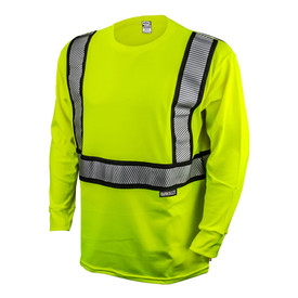 DeWalt DST921 Class 2 FR CAT 2 Hi-Viz Long Sleeve T-Shirt