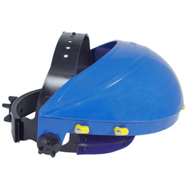 Radians Hard Hat Cap Adapters - black and blue hard hat cap adapters.