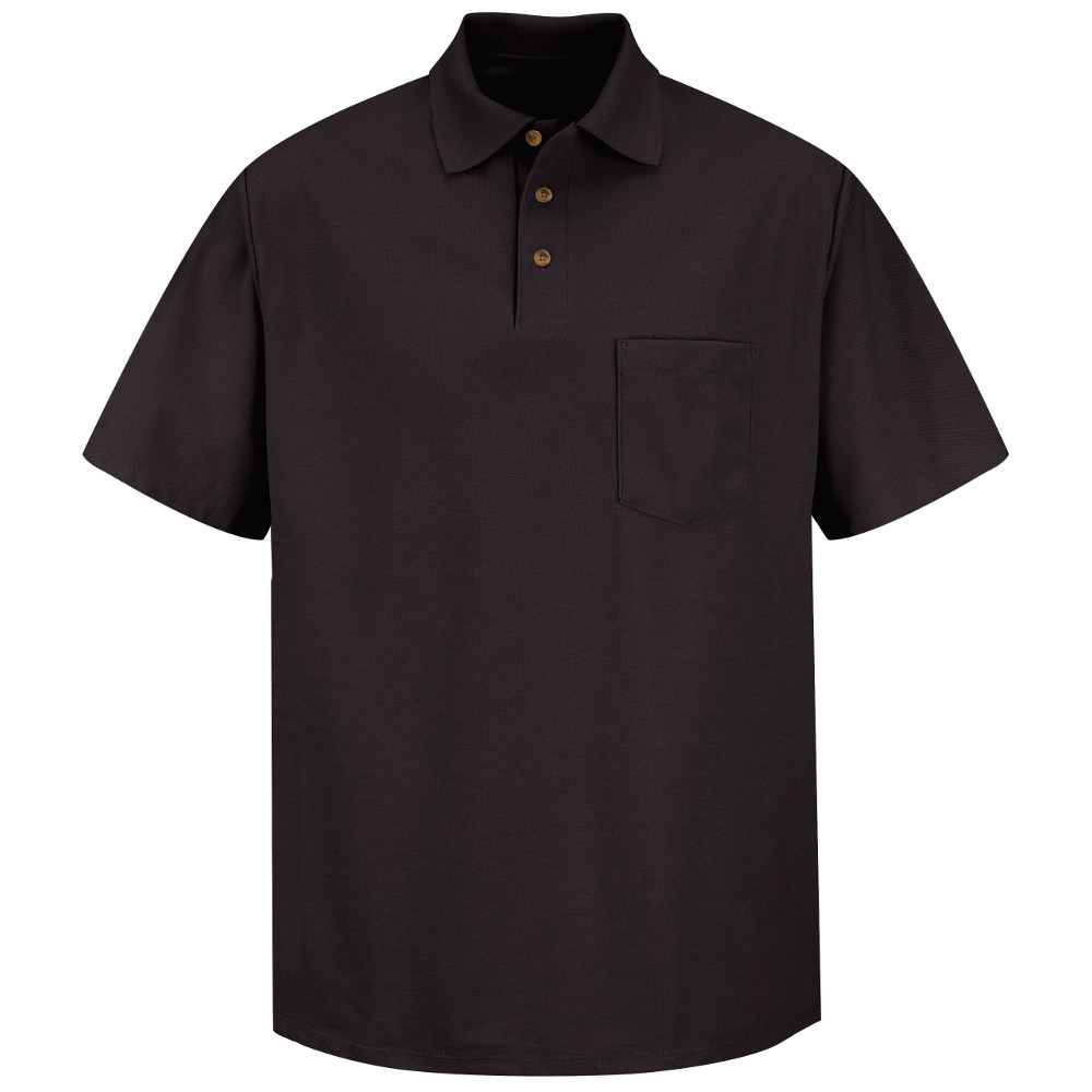 Red Kap Sk82 Mens Poly Cotton Polo Work Shirt Aris Industrial Supply