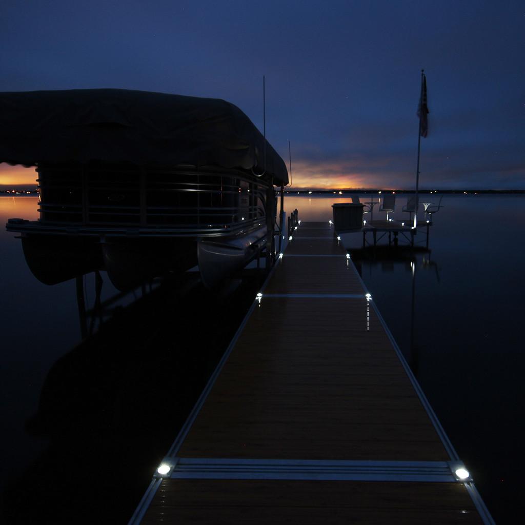 Solar Dock Lights