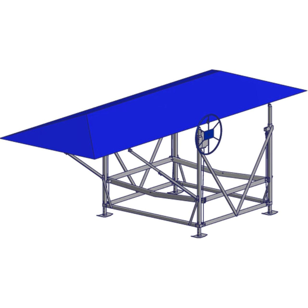 Hip Roof Canopy Cover - 13oz Vinyl