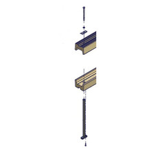 Composite Rod with Flat washer for PolyDock & ShorePort