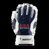 Youth USA Softball Navy Batting Gloves