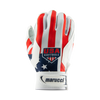 Youth USA Softball Stars and Stripes Batting Gloves