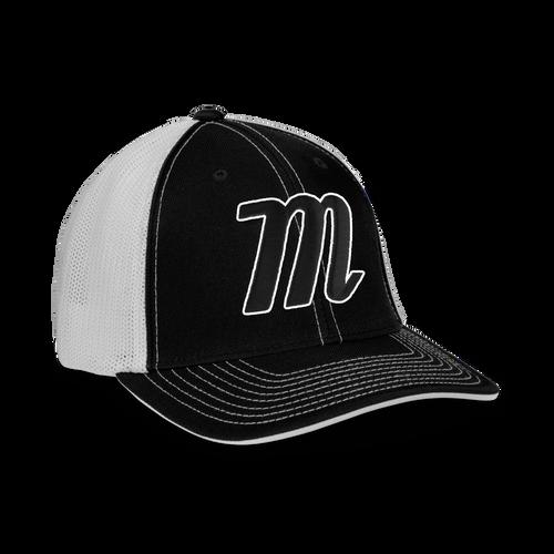 Pitch Black Snapback Hat