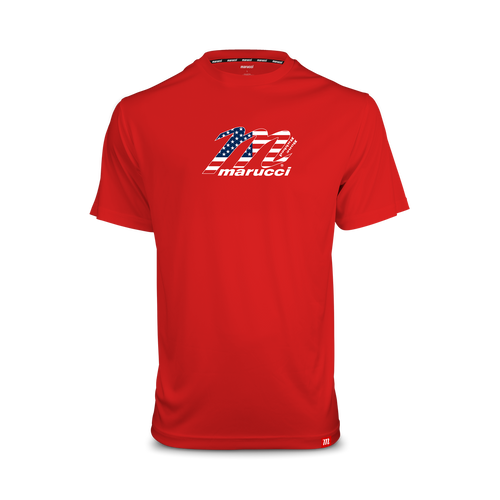 USA Wood Bat Logo Performance Tee