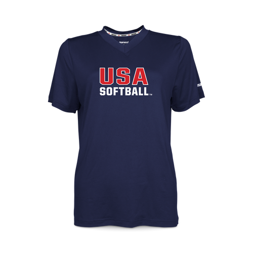 USA Softball Women's V-Neck