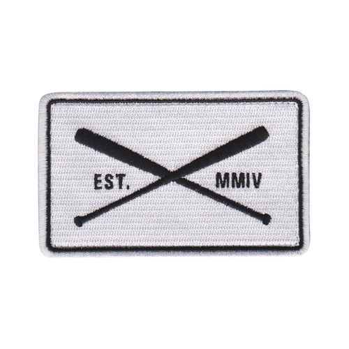 Est. 2004 Cross Bats Patch available in two colors.