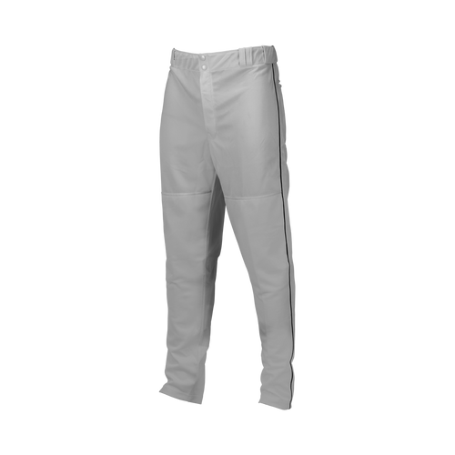Double-Knit Piped Pants