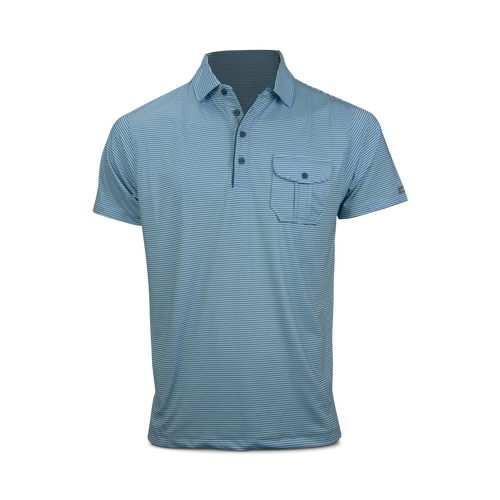 Matte Grey Hardball Polo