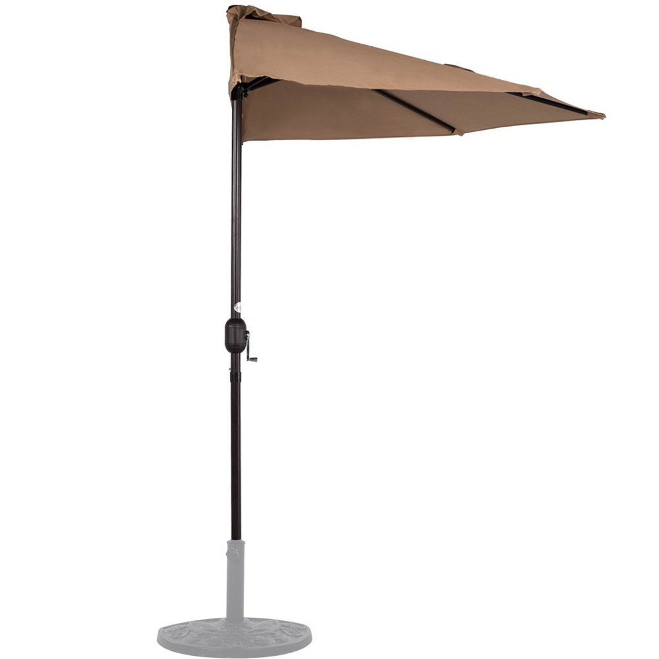 over by half patio walmart this hop score umbrella in to you pure only com on blue round garden where regularly for can just