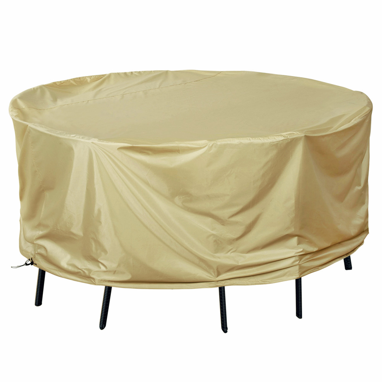 Patio Heavy Duty Round Tableu0026Chair Set Cover With PVC Coating, Fit Up To  79Dia X 35H ...
