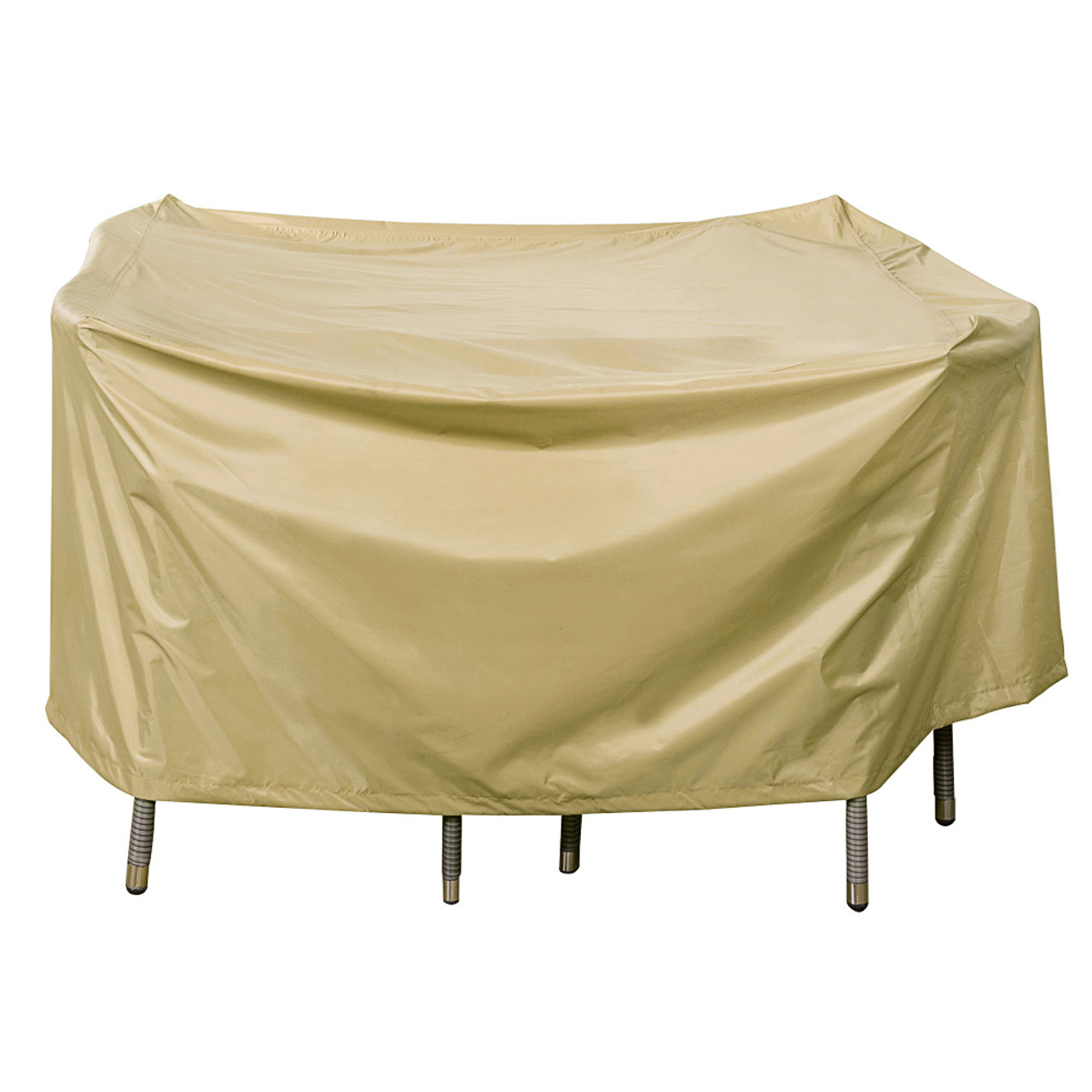Heavy Duty Square Table Cover With PVC Coating, Fit Up To 46L X 46W X 28H  ...