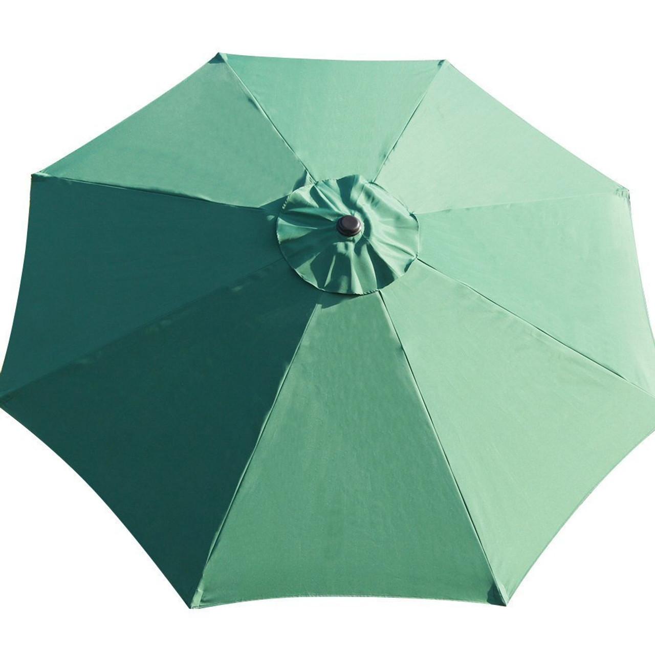 Patio Umbrella Material Replacement: 9 Feet Patio Umbrella Replacement Cover For 8 Ribs Yard