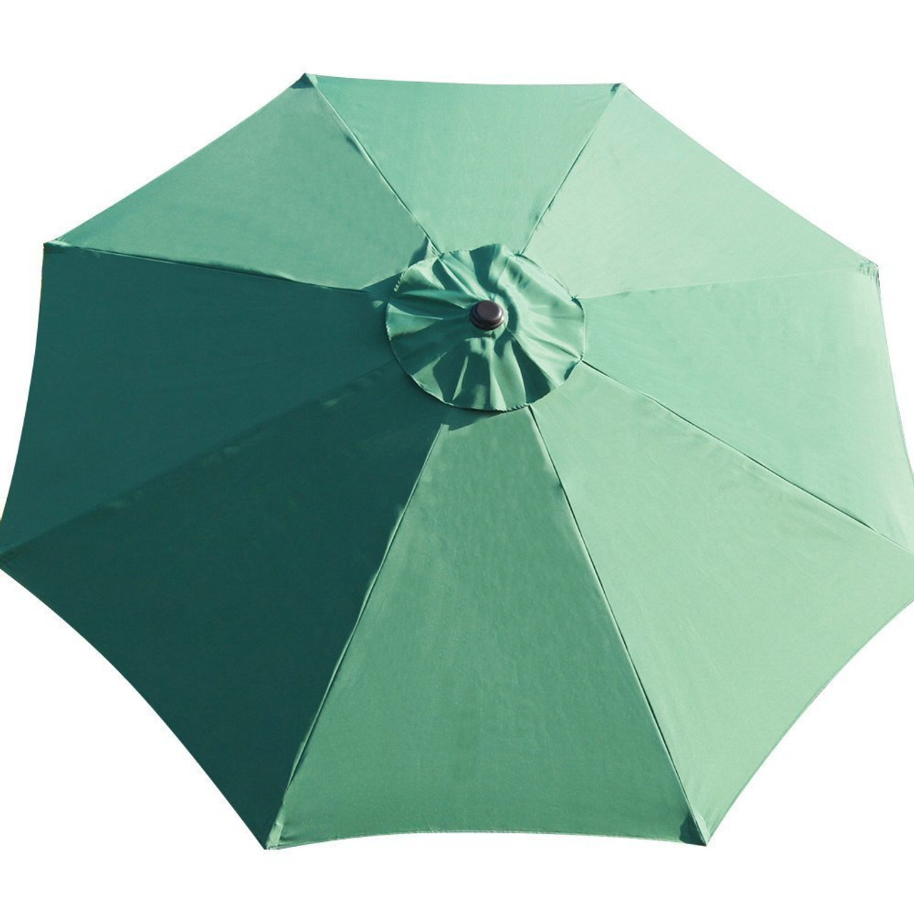 Charmant 9 Feet Patio Umbrella Replacement Cover For 8 Ribs Yard Garden Polyester  (Dark Green)
