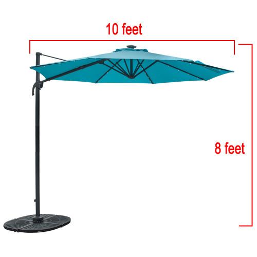 Lighted Umbrella For Patio Impressive Solar Powered 60 LED Lighted Outdoor Patio Umbrella With Crank And